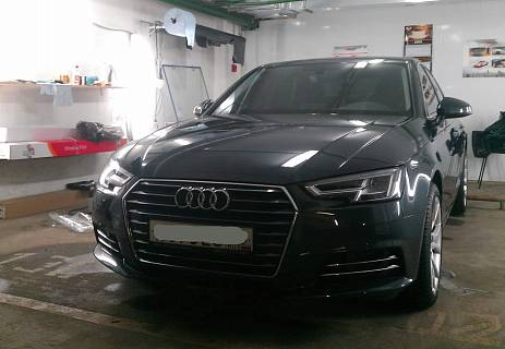 Тонировка Audi A4 Mystique Light